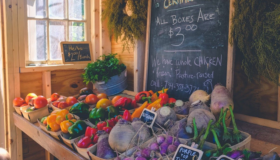 Farmers Markets around Ithaca MI